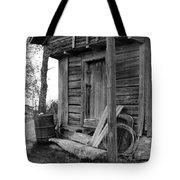 Old Log House Tote Bag