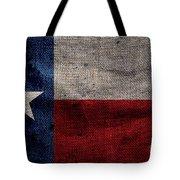 Old Lone Star Flag Tote Bag