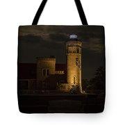 Old Mackinac Point Light, Mackinaw City Mi Tote Bag