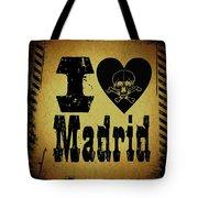 Old Madrid Tote Bag
