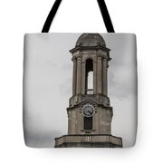 Old Main From Front Clock Tote Bag