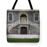 Old Main Penn State Stairs  Tote Bag