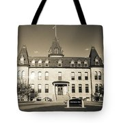 Old Main Sepia Tote Bag