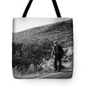 Old Man In Rural Greece Tote Bag