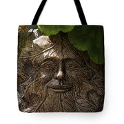 Old Man In The Garden Tote Bag