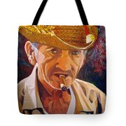Old Man Tote Bag