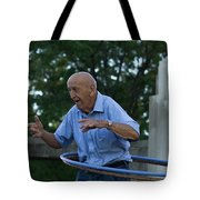Old Man Keeps The Body Moving Tote Bag