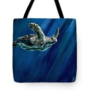 Old Man Of The Sea Tote Bag