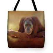 Old Man Orangutan Tote Bag