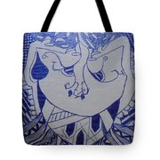 Old Man With Beard-part II Tote Bag