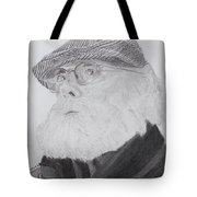 Old Man With Beard Tote Bag