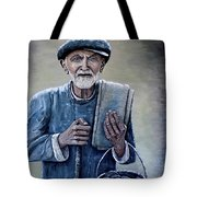 Old Man With His Stones Tote Bag