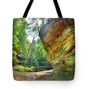 Old Man's Gorge Trail Hocking Hills Ohio Tote Bag