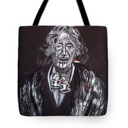 Old Maori Wahine Tote Bag