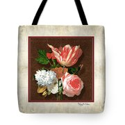 Old Masters Reimagined - Parrot Tulip Tote Bag