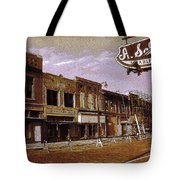 Old Memphis Beale Street Tote Bag