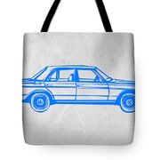 Old Mercedes Benz Tote Bag by Naxart Studio