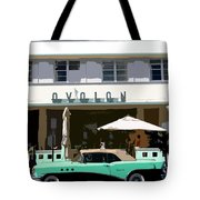 Old Miami Beach Tote Bag