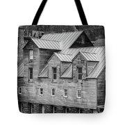 Old Mill Buildings Tote Bag