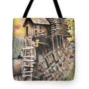 Old Mill In The Rockies Tote Bag
