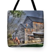 Old Mill Nelson County Virginia Tote Bag