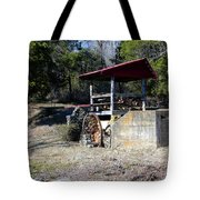 Old Mill Of Guilford Pumphouse Tote Bag