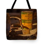 Old Mining Equipment Tote Bag