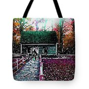 Old Mission Point Cabin Tote Bag