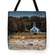 Old Mission Point Light House 01 Tote Bag