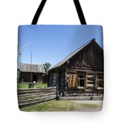 Old Model House  Tote Bag