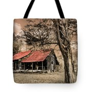 Old Mountain Cabin Tote Bag