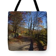 Old Mountain Road Tote Bag