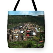 Old Moutain Village In Portugal Tote Bag