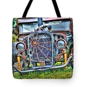 Old Muscle Car Tote Bag