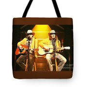 Old Neil And Young Neil Together Tote Bag