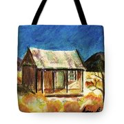 Old New Mexico Cabin Tote Bag