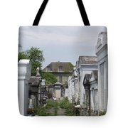 Old New Orleans Cemetery - The Big House  Tote Bag