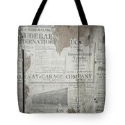 Old News Tote Bag
