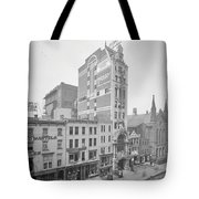 Old Nyc New Amsterdam Theater Photograph - 1905 Tote Bag
