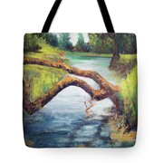 Old Oak Fallen Tote Bag