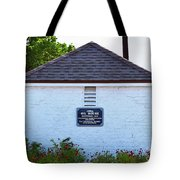 Old Oil House Tote Bag
