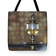 Old Oil Sight Glass In Industry Tote Bag