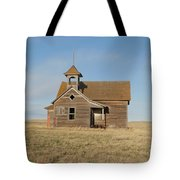 Old One Room School House Tote Bag