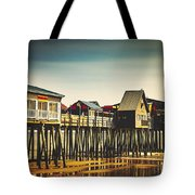 Old Orchard Beach Pier Tote Bag