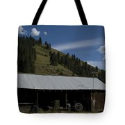 Old Out Building Tote Bag