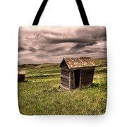 Old Outhouses Tote Bag