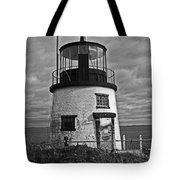 Old Owls Head Lighthouse Tote Bag