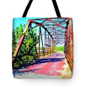 Old Ozark Trail Bridge Tote Bag