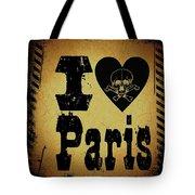 Old Paris Tote Bag