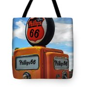 Old Phillips 66 Gas Pump Tote Bag